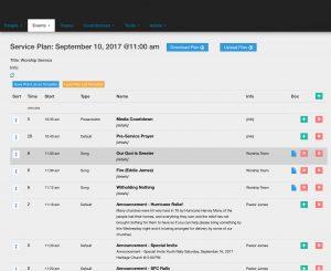 Service Planning - Web