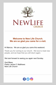 Church Email Automation