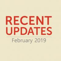 Recent Updates February 2019