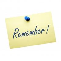 Church Leader Reminders - 6 Things