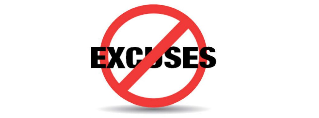 7 Excuses Leaders Use for Not Leading Well